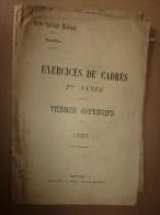 1926 Ecole Militaire De Saint-Cyr:   Encadrement (thèmes Offensifs) - Frans