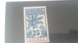 LOT 233968 TIMBRE DE COLONIE GUINEE NEUF* N�39 VALEUR 8 EUROS