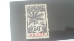 LOT 233969 TIMBRE DE COLONIE GUINEE NEUF* N�43 VALEUR 16 EUROS