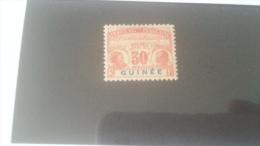 LOT 233975 TIMBRE DE COLONIE GUINEE NEUF* N�12 VALEUR 29 EUROS