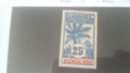 LOT 233982 TIMBRE DE COLONIE HAUT SENEGAL NEUF* N�8 VALEUR 23 EUROS
