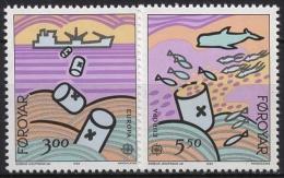 Färöer 1986 Europa CEPT: Natur- Und Umweltschutz 134/35 Postfrisch - Féroé (Iles)