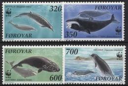 Färöer 1990 WWF Weltweiter Naturschutz: Wale Im Nordatlantik 203/06 Postfrisch - Féroé (Iles)