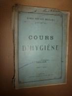 1926 Ecole Militaire De Saint-Cyr:COURS D'HYGIENE (Un Corps Sain Fait Un Esprit Sain Dans Un Corps Sain) Voici Les Bases - Livres