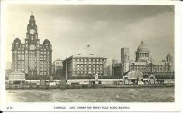 REGNO UNITO  LIVERPOOL  Liver Cunard And Mersey Board Buildings - Liverpool