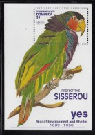 Dominica MNH Scott #1402 Souvenir Sheet $5 Amazona Imperialis (parrot) - Year Of The Environment And Shelter - Dominique (1978-...)