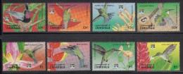 Dominica MNH Scott #1458-#1465 Set Of 8 Hummingbirds - Genoa 92 - Dominique (1978-...)