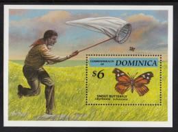 Dominica MNH Scott #1655 Souvenir Sheet $6 Snout Butterfly - Dominique (1978-...)