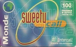 CARTE-PREPAYEE-INTERCALL- 100F-FRANCE-SWEETY-31/12/2 001-TBE - France