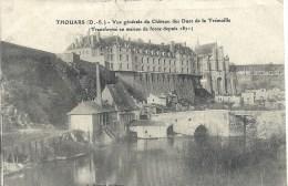 POITOU CHARENTE - 79 - DEUX SEVRES - THOUARS - Vue Générale Du Château Des Ducs De La Trémoille - Thouars