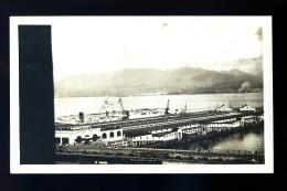 Photographie Originale Canada Vancouver British , Warship At C.P.R. Pier C   HIV12 - Bateaux
