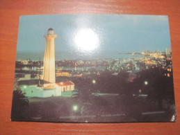 South Africa. RSA. Port  Elizabeth. Evening View Of Lighthouse And Harbour. Not Postally Used. - Postcards