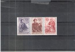 Belgique - COB 1128/30 - XX/MNH -  Année Mondiale Du Réfugié - Timbres Du Bloc 32 Se Tenant - Unused Stamps