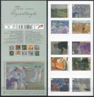 Belgium**VAN RYSSELBERGHE Peintures-Carnet 10timbres-Nues-Chevaux-ART-paintings Booklet 10vals-2013-MNH-Nude-Horse Races - Belgique