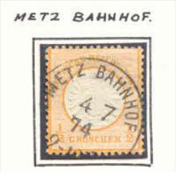 AL45 Treinstempel Ambulant Bahnhof  METZ BAHNHOF - Sin Clasificación