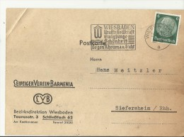 DR GS 1936 WIESBADEN SST - Storia Postale