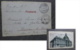 Gruss Aus Strasbourg Occupation Allemande, Cachets1908  Ref 923 - 1877-1920: Semi-Moderne