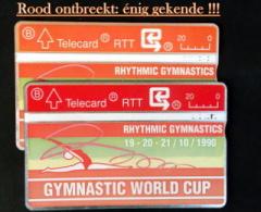 WORLD CUP GYMNASTIEK. RODE KLEUR ONTBREEKT. Mogelijk UNICUM. - Belgique