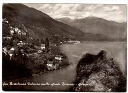 ZA712   San Bartolomeo Valmara (nello Sfondo Brissago - Svizzera) - Vg1955 - Verbania