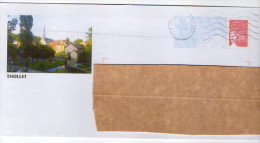 PAP--2004--THOLLET--86-Vienne-VUE DU VILLAGE (église) - Postal Stamped Stationery