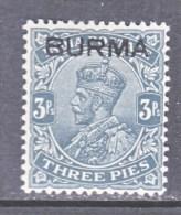 BRITISH  B URMA  1   * - Burma (...-1947)