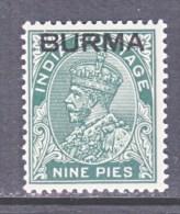 BRITISH  B URMA  3   * - Burma (...-1947)