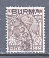 BRITISH  B URMA  4   (o) - Burma (...-1947)