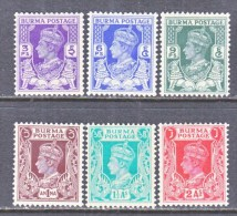 BRITISH  B URMA  19-24  * - Burma (...-1947)