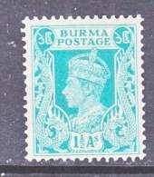 BRITISH  B URMA  23   ** - Burma (...-1947)