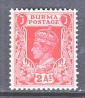 BRITISH  B URMA  24   ** - Burma (...-1947)