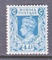 BRITISH  B URMA  28    * - Burma (...-1947)