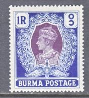 BRITISH  B URMA  30    * - Burma (...-1947)