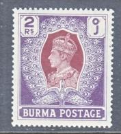BRITISH  B URMA  31    * - Burma (...-1947)