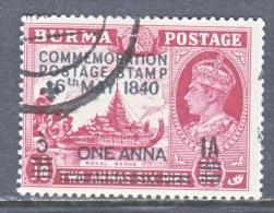 BRITISH  B URMA  34    (o) - Burma (...-1947)