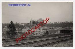 PIERREPONT-Carte Photo Allemande-Guerre14-18-1WK -Militaria-Frankreich-Fra Nce-54- - France
