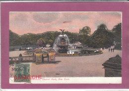 FOUNTAIN CENTRAL PARK NEW YORK - Ellis Island