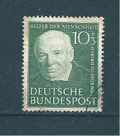 Allemagne Fédérale Timbre De 1951  N°30  Oblitéré - Used Stamps