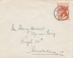 Envelop 27 Nov 1945 Enschede (typerader Kortebalk) - Poststempels/ Marcofilie