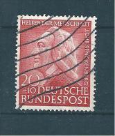 Allemagne Fédérale Timbre De 1953  N°61  Oblitéré - Used Stamps
