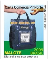 BRAZIL #3101  -   MAILCARRIER -  HANDBAG