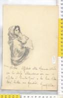 Z29273  DISEGNO A MANO VERGINE MARIA MADONNE MADONNA DEL BUON RIPOSO - Vieux Papiers