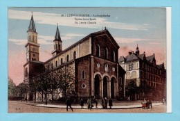 LUDWIGSHAFEN - Ludwigskirche - Eglise Saint Louis - Ludwigshafen