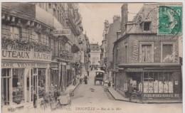 Calvados : TROUVILLE  :  Rue De La  Mer - Trouville