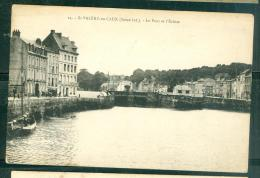 N°24 - Saint Valéry En Caux - Le Pont Et  L'écluse   - Eax142 - Saint Valery En Caux