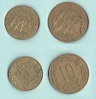 Africa Equatoriale Camerun 5  + 10  Francs - Camerun