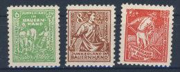 Mecklenburg Vorpommern Michel No. 23 - 25 a ** postfrisch