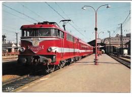 CPSM De Train Le Capitole Au Départ De Toulouse (locomotive BB 9368) - Trains