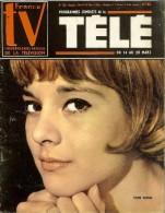 Revue France Télé Mars 1964 Sylvie Vartan + Poster Central Johnny Hallyday Très Bon Etat - Musique