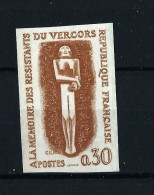 """France Lot 624 : Essai De Couleur ND N° Yvert 1336 """" Resistance """"  Neuf Luxe  Prix Hors Compétition - Essais"""