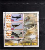 ERITREA 2012 ENGLISH ARMY WORLD WAR SOUVENIR SHEET GUERRA MONDIALE FOGLIETTO MNH - Etichette Di Fantasia